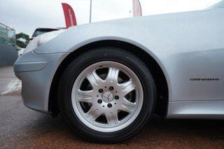 2004 Mercedes-Benz SLK200 Kompressor R171 Silver 5 Speed Auto Tipshift Convertible.