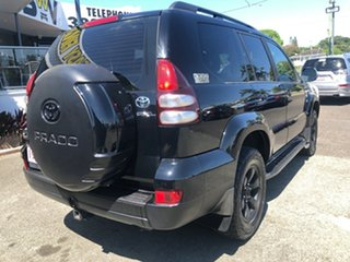 2006 Toyota Landcruiser Prado KZJ120R GXL Black 5 Speed Manual Wagon