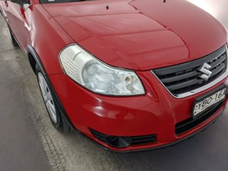 2013 Suzuki SX4 GYA MY13 Crossover Red 6 Speed Constant Variable Hatchback.