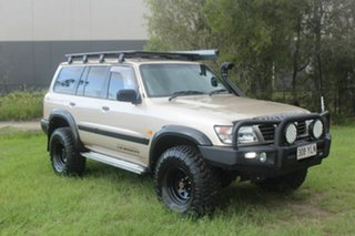 1999 Nissan Patrol GU ST Gold 5 Speed Manual Wagon.