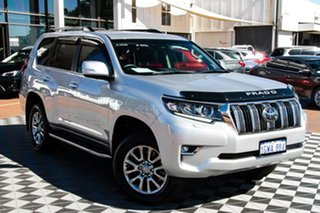 2019 Toyota Landcruiser Prado GDJ150R VX Silver 6 Speed Sports Automatic Wagon.