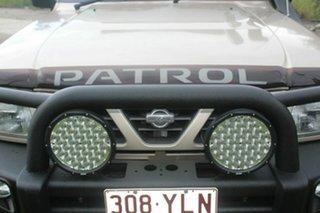 1999 Nissan Patrol GU ST Gold 5 Speed Manual Wagon
