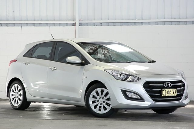 Used Hyundai i30 GD4 Series II MY17 Active West Gosford, 2016 Hyundai i30 GD4 Series II MY17 Active Silver 6 Speed Sports Automatic Hatchback