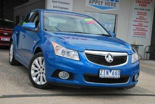 2012 Holden Cruze JH MY12 CDX Blue 6 Speed Automatic Sedan.