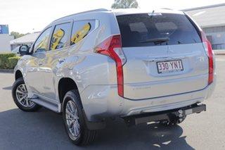 2018 Mitsubishi Pajero Sport QE MY18 GLX Sterling Silver 8 Speed Sports Automatic Wagon.