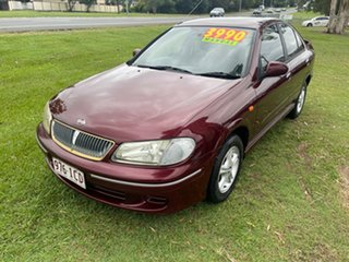 2002 Nissan Pulsar N16 Q Maroon 5 Speed Manual Sedan