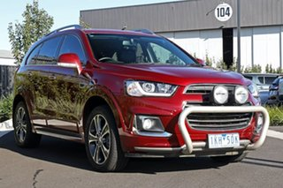 2016 Holden Captiva CG MY16 LTZ AWD Red 6 Speed Sports Automatic Wagon