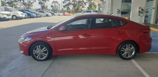 2017 Hyundai Elantra AD MY17 Active Fiery Red 6 Speed Sports Automatic Sedan