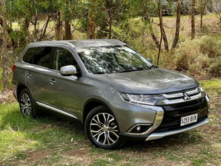 2017 Mitsubishi Outlander ZL MY18.5 ES 2WD Grey 6 Speed Constant Variable Wagon