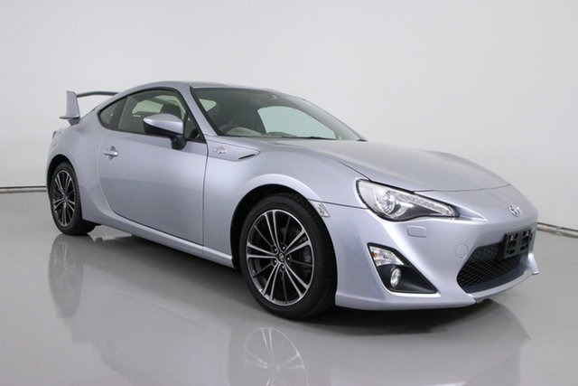 Used Toyota 86 ZN6 MY14 GTS Bentley, 2014 Toyota 86 ZN6 MY14 GTS Silver 6 Speed Manual Coupe