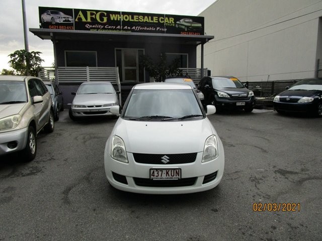 Used Suzuki Swift EZ 07 Update Coorparoo, 2008 Suzuki Swift EZ 07 Update White 5 Speed Manual Hatchback