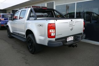 2013 Holden Colorado RG MY14 LX Crew Cab Silver 6 Speed Sports Automatic Utility