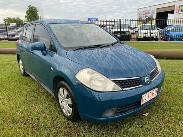 Used Nissan Tiida C11 MY07 ST Berrimah, 2007 Nissan Tiida C11 MY07 ST Blue 6 Speed Manual Hatchback