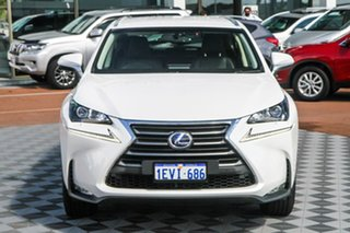 2015 Lexus NX AYZ10R NX300h E-CVT 2WD Luxury White 6 Speed Constant Variable Wagon Hybrid