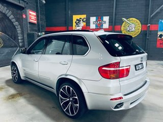 2010 BMW X5 E70 MY10 xDrive35d Steptronic Silver 6 Speed Sports Automatic Wagon