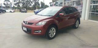 2009 Mazda CX-7 ER1031 MY07 Luxury Red 6 Speed Sports Automatic Wagon