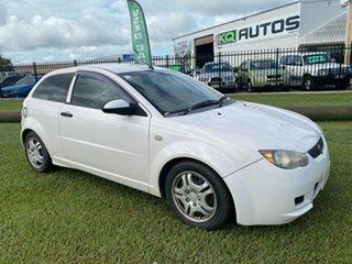 2011 Proton Satria BS Neo G White 5 Speed Manual Hatchback.