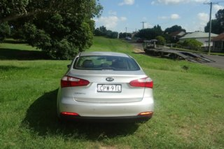 2013 Kia Cerato TD MY13 S Silver 6 Speed Manual Sedan