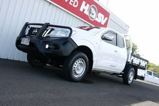 2017 Nissan Navara D23 S2 RX King Cab 4x2 White 6 Speed Manual Cab Chassis.