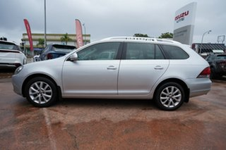 2011 Volkswagen Golf 1K MY12 103 TDI Comfortline Silver 6 Speed Direct Shift Wagon