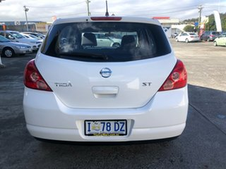 2006 Nissan Tiida C11 ST White 4 Speed Automatic Hatchback