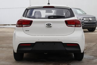 2019 Kia Rio YB MY20 S White 4 Speed Sports Automatic Hatchback