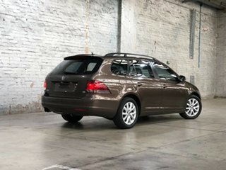2011 Volkswagen Golf VI MY11 90TSI DSG Trendline Bronze 7 Speed Sports Automatic Dual Clutch Wagon