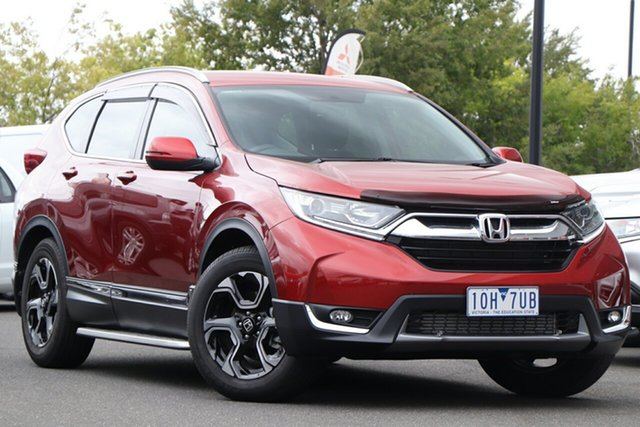 Used Honda CR-V RW MY18 VTi-S FWD Essendon North, 2018 Honda CR-V RW MY18 VTi-S FWD Red 1 Speed Constant Variable Wagon