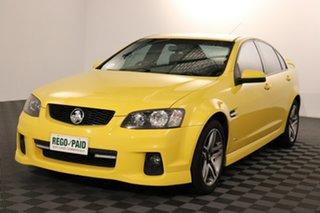2011 Holden Commodore VE II SV6 Devil Yellow 6 speed Automatic Sedan.