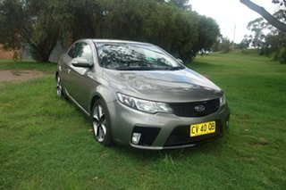 2010 Kia Cerato TD MY10 Koup Silver 5 Speed Manual Coupe.