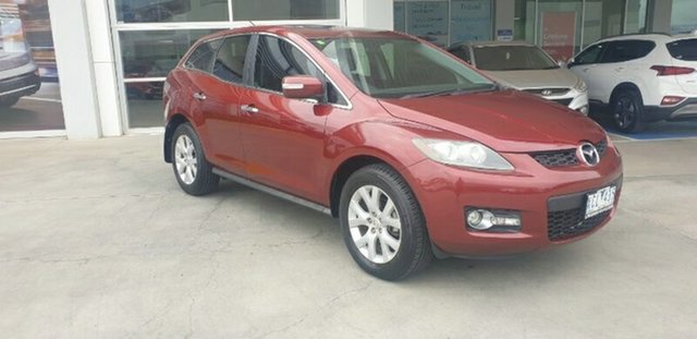Used Mazda CX-7 ER1031 MY07 Luxury Ravenhall, 2009 Mazda CX-7 ER1031 MY07 Luxury Red 6 Speed Sports Automatic Wagon