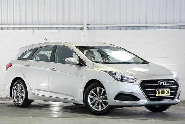 Used Hyundai i40 VF4 Series II Active Tourer West Gosford, 2016 Hyundai i40 VF4 Series II Active Tourer Silver 6 Speed Sports Automatic Wagon
