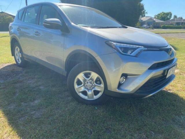 Used Toyota RAV4 ASA44R MY18 GX (4x4) Wangaratta, 2018 Toyota RAV4 ASA44R MY18 GX (4x4) Silver Sky 6 Speed Automatic Wagon