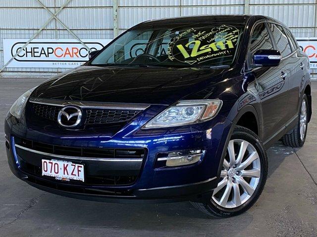 Used Mazda CX-9 TB10A1 Luxury Rocklea, 2008 Mazda CX-9 TB10A1 Luxury Blue 6 Speed Sports Automatic Wagon