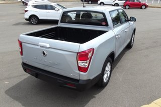 2020 Ssangyong Musso Q200 MY20.5 ELX Crew Cab Silver 6 Speed Sports Automatic Utility