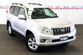 2012 Toyota Landcruiser Prado KDJ150R 11 Upgrade GXL (4x4) Silver Pearl 5 Speed Sequential Auto.