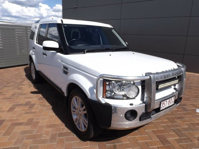 Used Land Rover Discovery 4 Series 4 L319 MY13 TDV6 Toowoomba, 2013 Land Rover Discovery 4 Series 4 L319 MY13 TDV6 8 Speed Sports Automatic Wagon