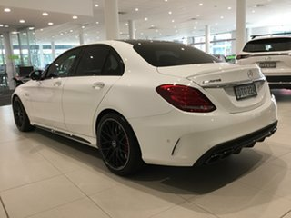 2017 Mercedes-Benz C-Class W205 808MY C63 AMG SPEEDSHIFT MCT S Polar White/w205 7 Speed