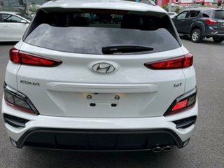 2020 Hyundai Kona Os.v4 MY21 Atlas White 7 Speed Sports Automatic Dual Clutch Wagon