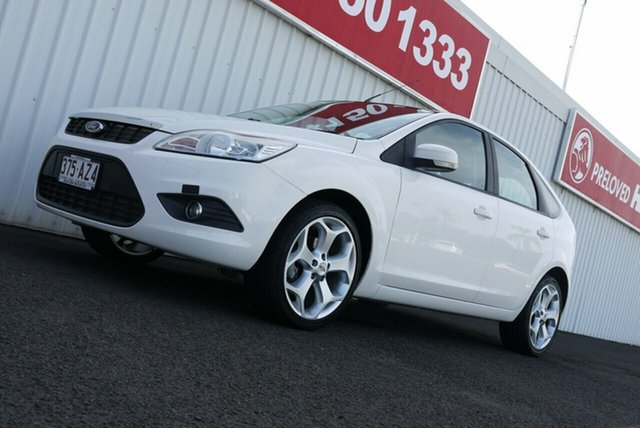 Used Ford Focus LV LX Bundaberg, 2010 Ford Focus LV LX White 4 Speed Sports Automatic Hatchback