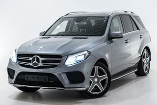 2016 Mercedes-Benz GLE-Class W166 GLE350 d 9G-Tronic 4MATIC Silver 9 Speed Sports Automatic Wagon.
