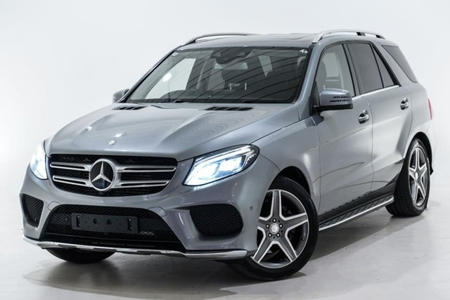 Used Mercedes-Benz GLE-Class W166 GLE350 d 9G-Tronic 4MATIC Berwick, 2016 Mercedes-Benz GLE-Class W166 GLE350 d 9G-Tronic 4MATIC Silver 9 Speed Sports Automatic Wagon