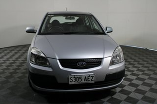 2009 Kia Rio JB MY09 LX Silver 5 Speed Manual Hatchback.