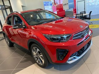 2020 Kia Stonic YB MY21 GT-Line DCT FWD Signal Red 7 Speed Sports Automatic Dual Clutch Wagon.
