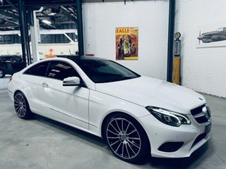 2013 Mercedes-Benz E-Class C207 MY13 E250 CDI 7G-Tronic + White 7 Speed Sports Automatic Coupe