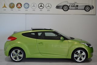2014 Hyundai Veloster FS3 + Coupe D-CT Green 6 Speed Sports Automatic Dual Clutch Hatchback