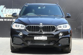 2014 BMW X5 F15 xDrive25d Black 8 Speed Automatic Wagon.