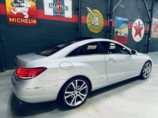 2013 Mercedes-Benz E-Class C207 MY13 E250 7G-Tronic + Silver 7 Speed Sports Automatic Coupe