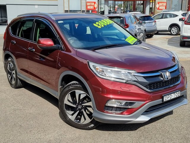 Used Honda CR-V RM Series II MY17 VTi-L Hornsby, 2017 Honda CR-V RM Series II MY17 VTi-L Rc 5 Speed Sports Automatic Wagon