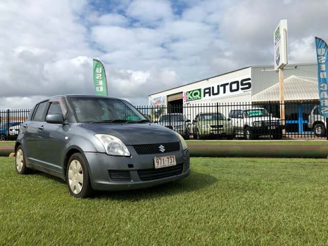 Used Suzuki Swift RS415 Berrimah, 2010 Suzuki Swift RS415 Grey 5 Speed Manual Hatchback
